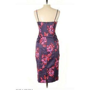 David Meister Dresses - David Meister Dress Plum/Flowers Size 10 NWT